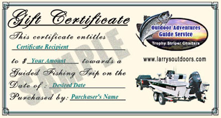 Gift Certificate for a Guided Outdoor Adventure