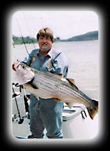 44lb 2oz Trophy Striper
