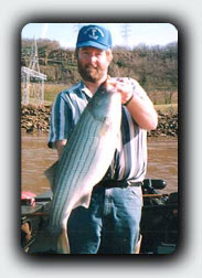 Eufaula Dam Striper
