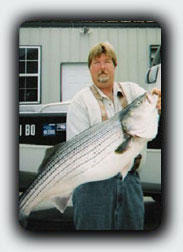 Eufaula Dam Trophy Striper